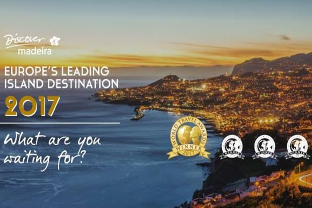 Madeira eleita o Melhor Destino Turístico Insular da Europa!