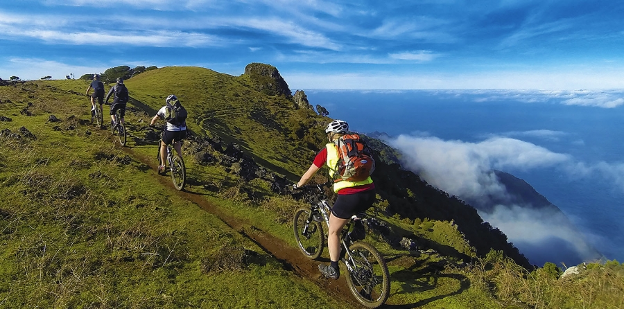 Mountainbiking easy tour